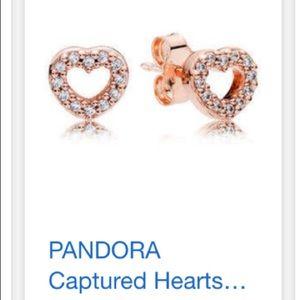 Pandora heart studs
